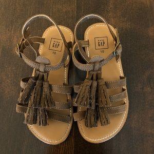 Baby Gap Sandals, Size 10